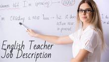 An English teacher