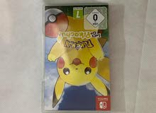 لعبه بوكيمون للنينتندو سويتش Pokemon Nintendo Switch game150 فقط
