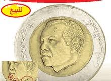5 دراهم مغربية 1436هـ 2015 للملك محمد السادس يوجد بها معدن زائد يبحث عنها الجميع