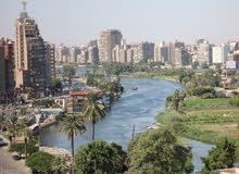شقة ذات إطلالة بانورامية على النيل مباشرة، شارع البحر الأعظم