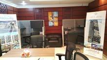 فرصة  للتقبيل   مكتب مؤثث  كامل  جاهز  للأستخدام    لمؤسسة او مكتب هندسي