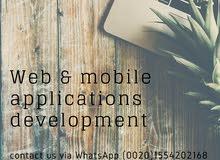 تصميم وتطوير تطبيقات الجوال والمواقع الإلكترونية
