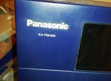 مقسم باناسونيك kx-tda 200 مع تلفونات ديجتال