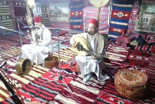 Oud player and singer in the United Arab Emirates