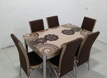 طاولات سفرة 6 كراسي صناعة تركيا عرض خاص
