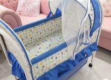 سرير للأطفال من شهر إلى سته أشهر