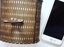 بوكس خشبي معمول ومنقوش بالليزر للهدايا والمجوهرات ويمكن عمل حجم اكبر