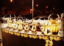 قهوجي خبرة 20 عام في مجال القهوة العربية
