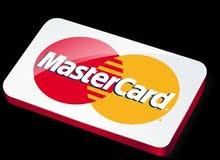 بيع بطاقاتMasterCard للشراء من الانترنت والالعاب والترويج اعلاناتك