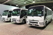 For a Day rental period, reserve a Toyota Coaster 2018