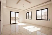 تملك شقة مساحة 134م  في موقع مميز مطل على شارع الاردن  الجبيهة موقع مميز