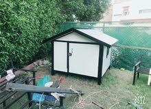 تنفيذ وبيع بيوت جاهزه للكلاب والقطط