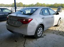 Corolla 2017 - Used Automatic transmission