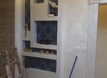 عمل جميع انواع الديكورات الداخلية  for all decoration works