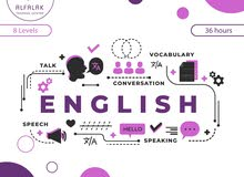 اقوى بكج دورة انجليزي 8 مستويات +دورة محادثة +دورة icdl