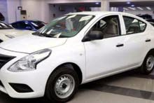 White Nissan Sunny 2018 for sale