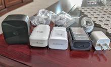 اجهزةشحن ايفون و  شحن سريع اصلية Samsung & LG