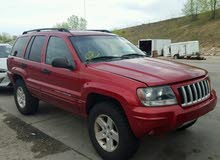 Jeep Grand Cherokee 2004 For sale - Red color