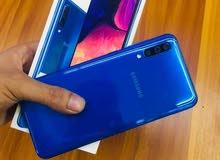 سعر رائع للجهاز إستعمال أيام بالكرتونه والضمان samsung Galaxy A50
