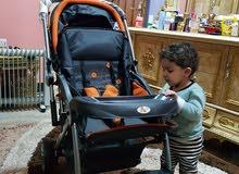 عربة أطفال جديدة للبيع