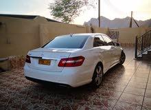 White Mercedes Benz E 350 2010 for sale