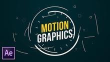 مصمم جرافيك ومصمم فيديو موشن جرافيك و مخرج ميديا عمل فيديوهات كرتونية باحترافيه