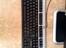 كمبيوتر HP شبه جديد كامل