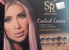 عدسات ماركة SR لون true sapphire