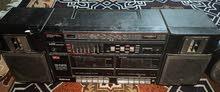 راديو مسجل شغال عدد ثنين وكاسيتات كثيره سعر  125 الف