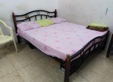 سرير 200 /160 ستيل دون مرتبة steel bed without mattress