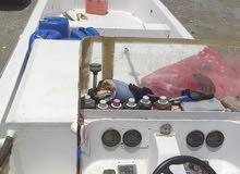 قارب 33 قدم مصنع وادي حام كلباء 2017 القارب فية محياة للسمك الحي 2 على السطحة