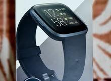 Fitbit Versa 2 (NFC) Smartwatch - Black/Carbon Aluminium