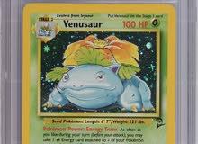 pokemon 2000 base set 2 Venusaur cgc 5