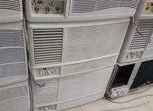 للبيع مكيفات شباك واسبلت مع التركيب حار بارد