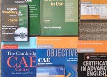 مجموعة كتب التحضير لشهادة (Certificate in Advanced English)