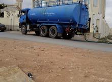 تنكر مياه صالحه للشرب للايجار 5000جالون موديل 2008