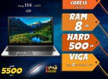 laptop hp core i5 ram 8 hdd 500 / استيراد لرجال الاعمال والبزنس والعمل الشاق