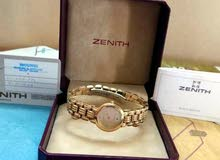 Zenith gold Plated watch for Ladies