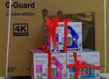 عرض قوي على شاشة G-guard 65 smart 4k مع عجانه مجانا