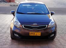 Kia Rio 2012 For sale - Brown color