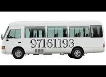 Gasoline Fuel/Power car for rent - Toyota Coaster 2016