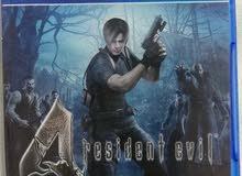 لعبة resident evil 4. رزدنت ايفيل الجزء الرابع لجهاز ps 4