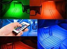 اضاءة ارضيات لسيارة بريموت كنترول