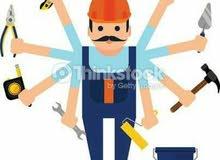كافة اعمال الصيانه في المنازل