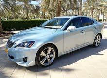 للبيع لكزس is250 موديل 2012 قمة النظافه