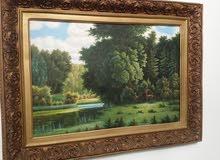 لوحات قيمة زيتية العدد ثلاثة (ملكية خاصة )
