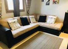L shaped sofa in excellent condition