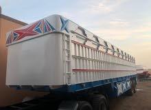 Cargo trailer 13 Meter 02 Axle heavy duty for sale