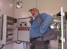 مكتب كهروميكانيك ..صيانة كهربائية وتصنيع بوردات السيطرة وتصليح المولدات