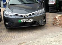 Toyota Corolla 2018 For Rent - Grey color